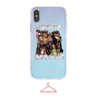 Image of MANNY HOLOGRAPHIC iPHONE CASE