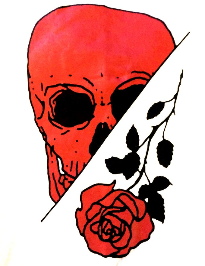 Image of Skull/Rose
