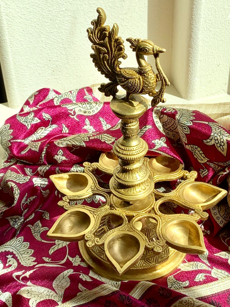 Image of Brass Hansa Diya/Lamp