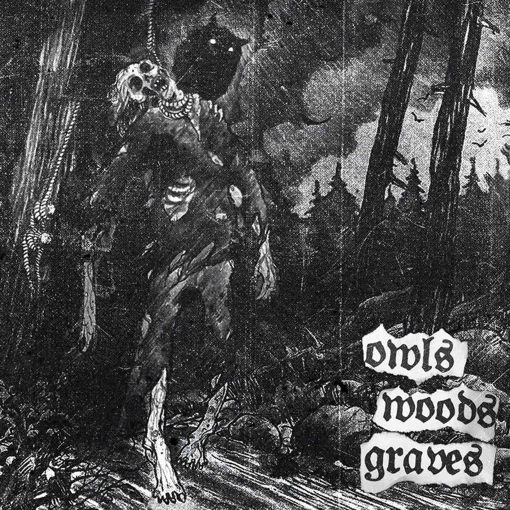 Image of OWLS WOODS GRAVES - 'owls woods graves' mCD