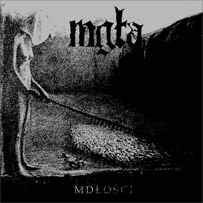 Image of MGŁA - 'Mdłości / Further down the nest' CD