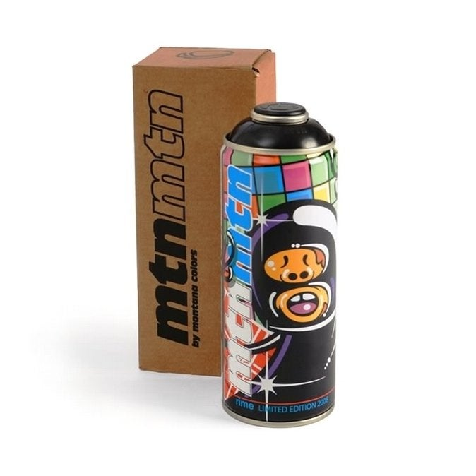 Image of MONTANA Colors MTN Limited Edition Spray Paint Can RIME 2008