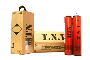 Image of MONTANA Colors MTN Limited Edition TNT 7 pack Spraypaint Graffiti