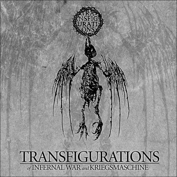 Image of INFERNAL WAR / KRIEGSMASCHINE - 'Transfigurations' CD