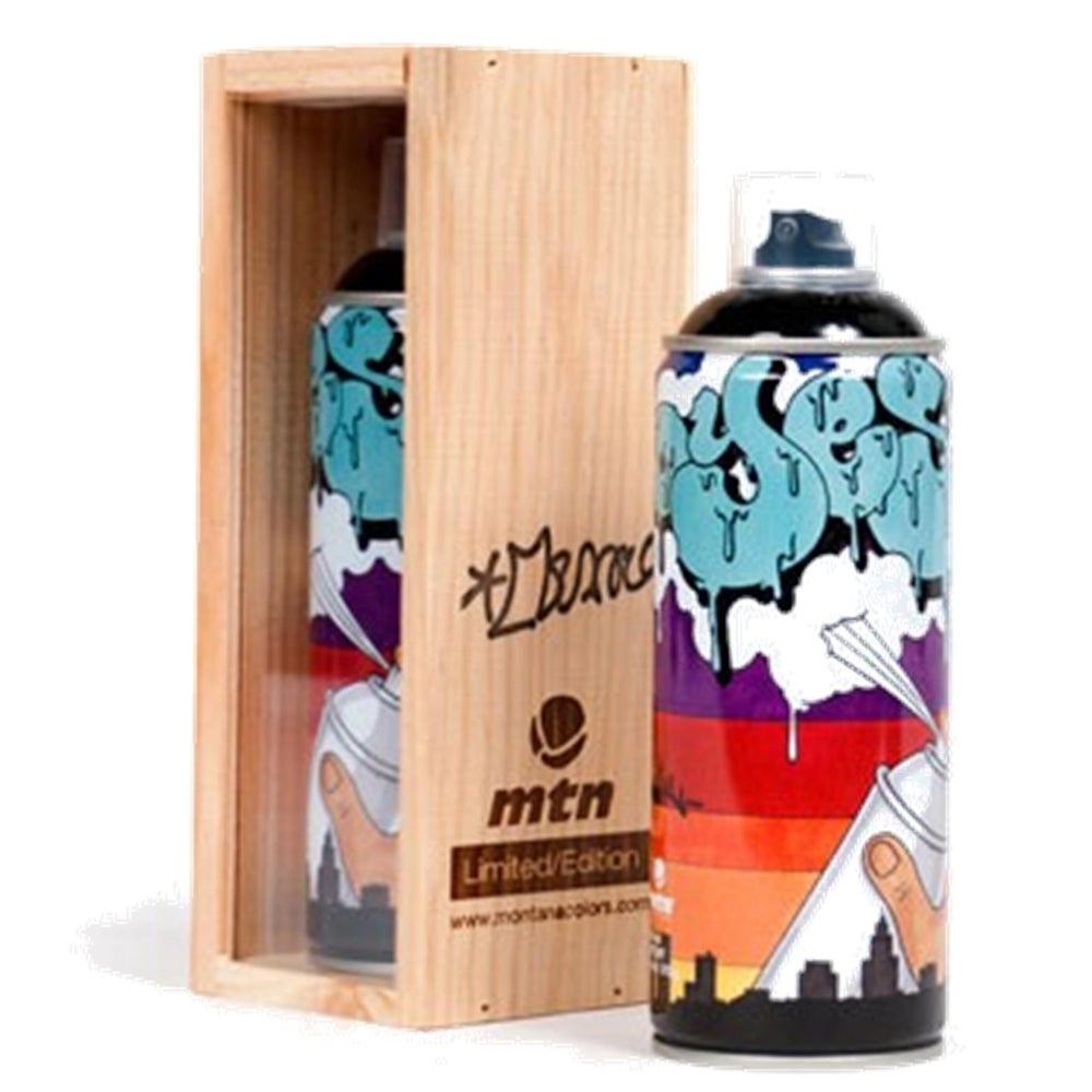 Image of MONTANA Colors MTN Limited Edition Spray Paint Can YES2 2013