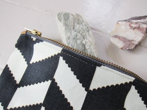 Image of Printed textile clutch, small # 2
