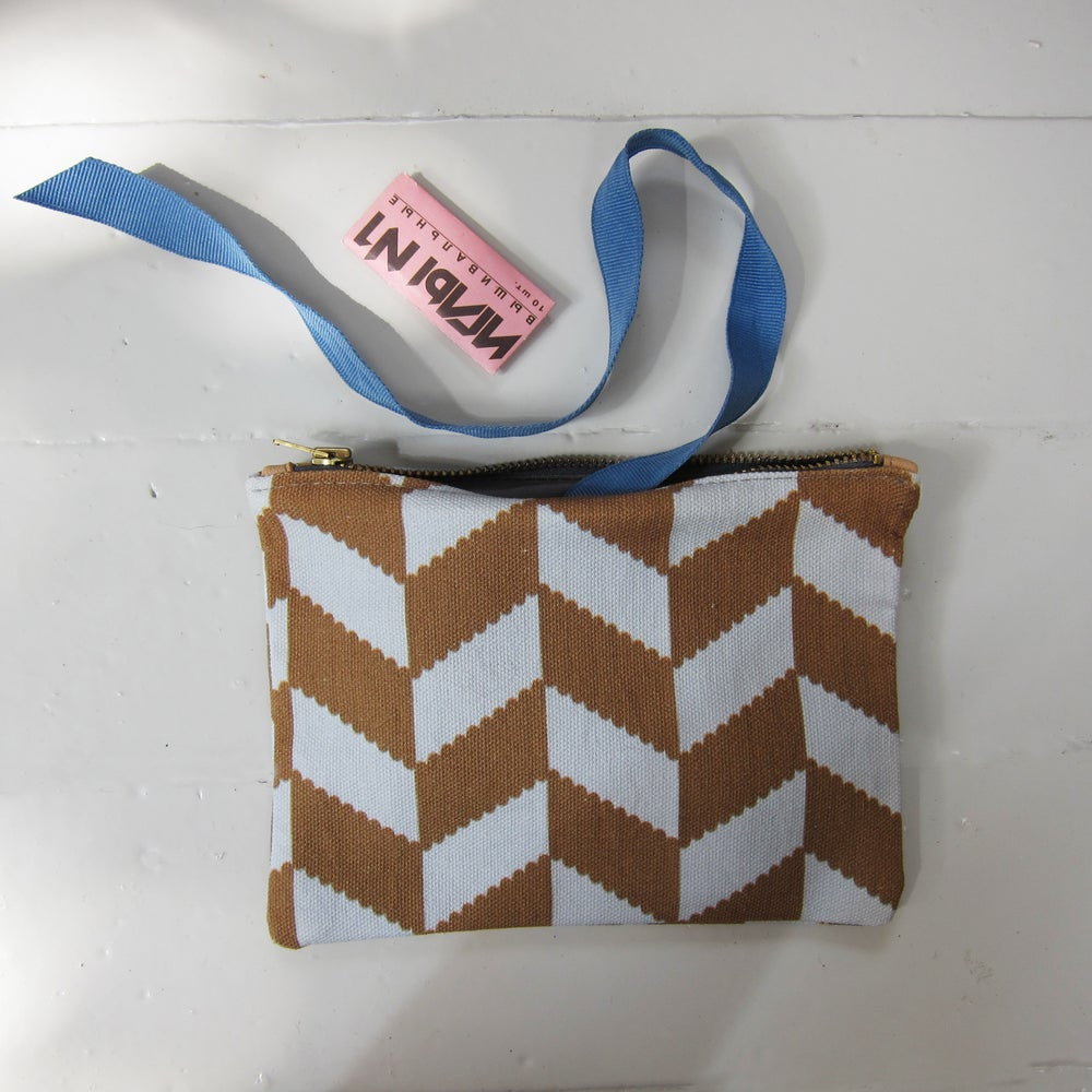 Image of Printed textile clutch, small # 3