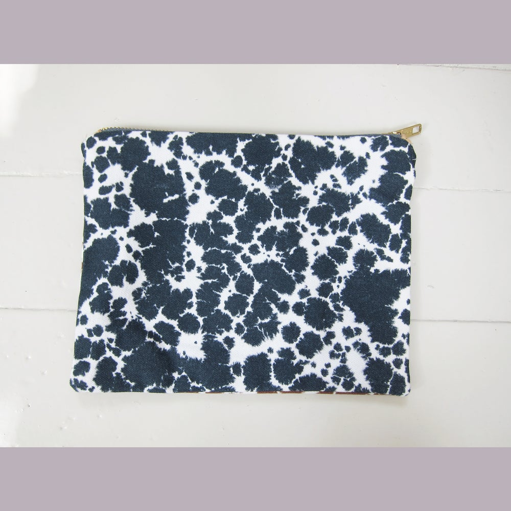Image of Printed textile clutch, large # 2