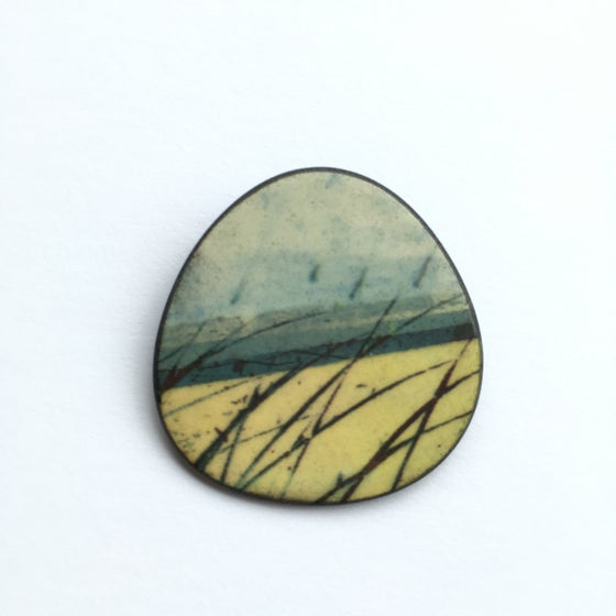 Image of Elements Range - Skyline Brooch (Rounded)
