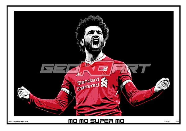 Image of MO SALAH LIVERPOOL