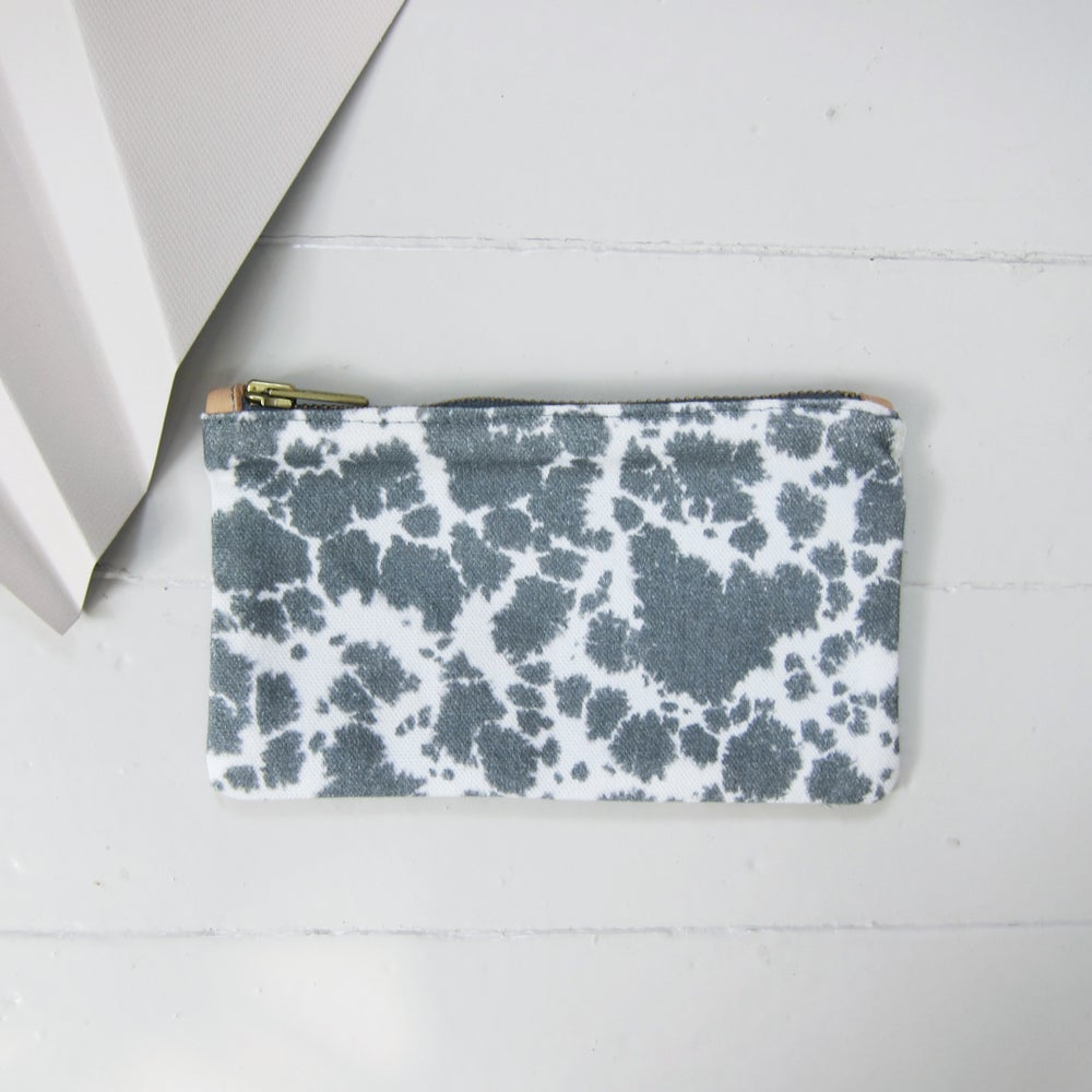 Image of Printed textile clutch, small # 5