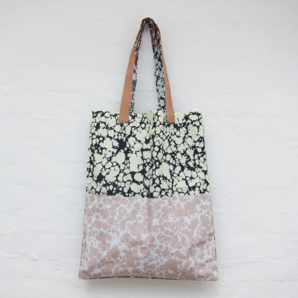 Image of Printed tote bag / Marble # 2