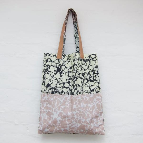 Image of Printed tote bag / Marble # 2