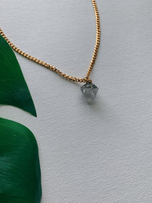 Image of POPHY DREAM • Apophyllite necklace