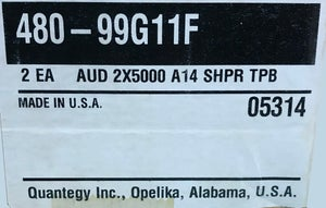 "Image of 2 pack of Quantegy 480 2"" x 5000' in Tape Care Library Shipper"