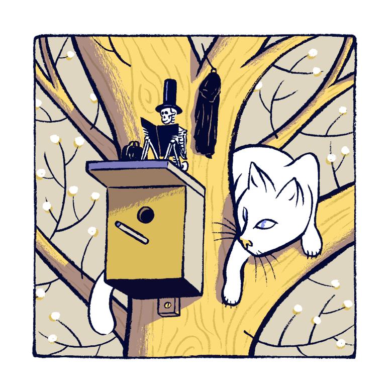 Image of »Katze & Tod«