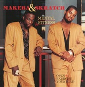 "Image of MAKEBA & SKRATCH ""MENTAL FITNESS"" LP"