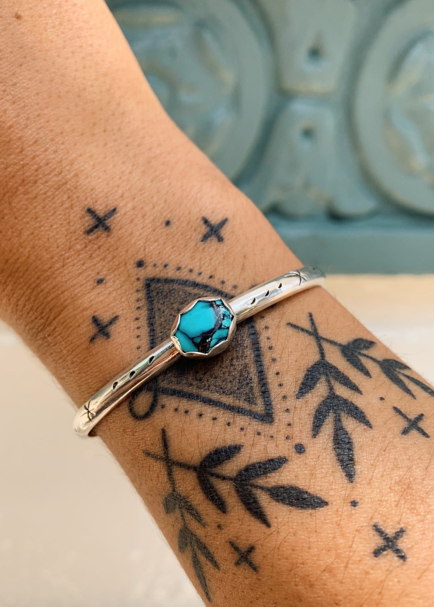 Image of Baby Turquoise Cuffs