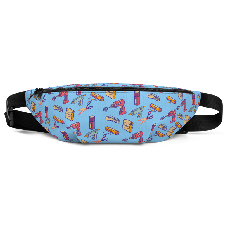 Image of Blue Crafty Tool Fanny Pack