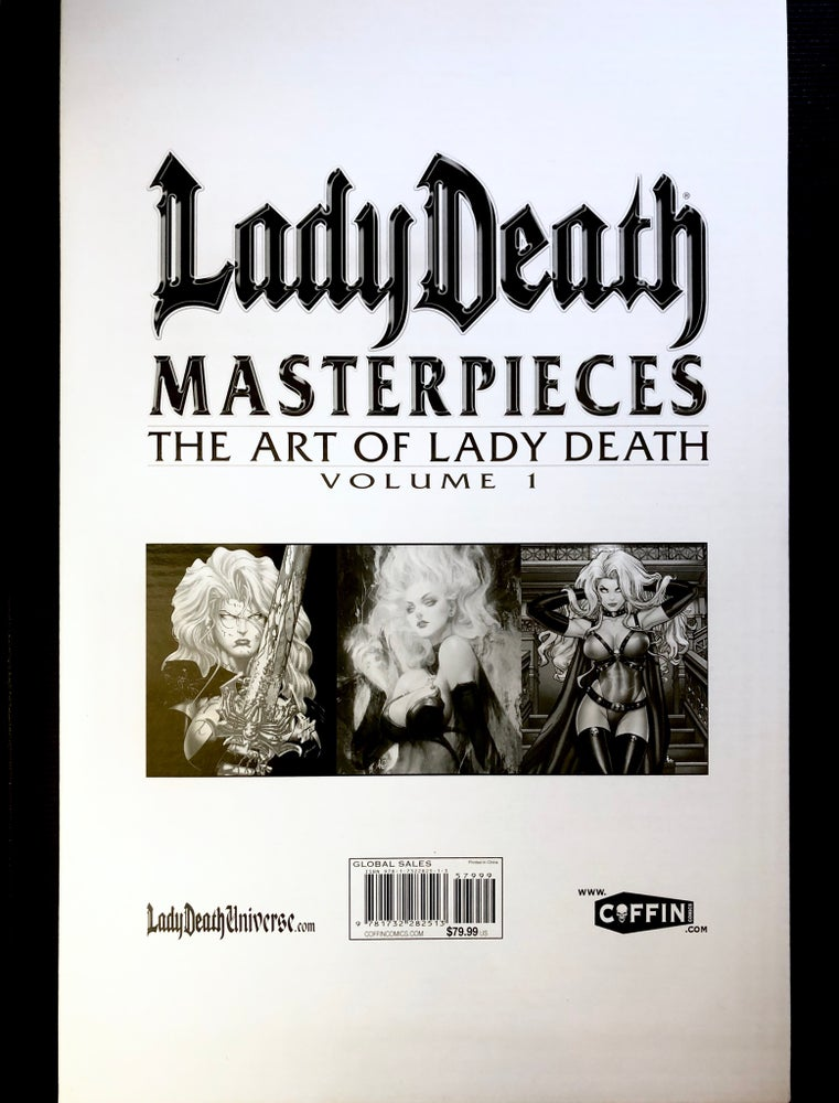 Image of Lady Death Masterpiece Book