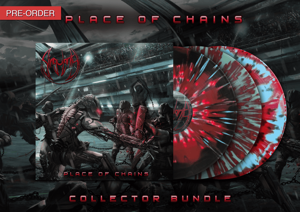 Image of SINGULARITY - Place of Chains | LP Collector Bundle