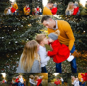 Image of Winter/Holiday Mini Session-Outdoors ($100 booking-DEPOSIT ONLY) $349 Sat/Sun & $325 Fri