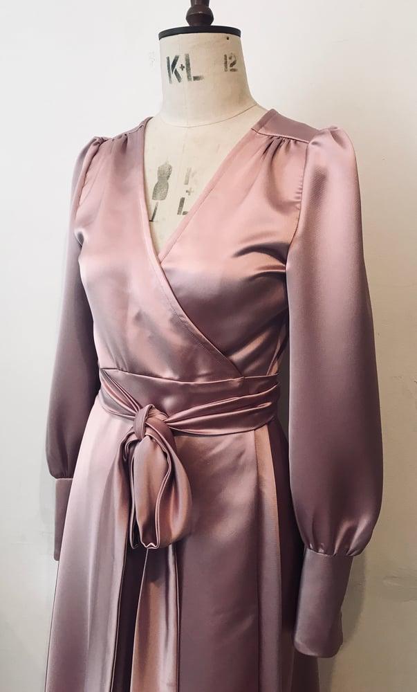 Image of Esmeralda wrap dress