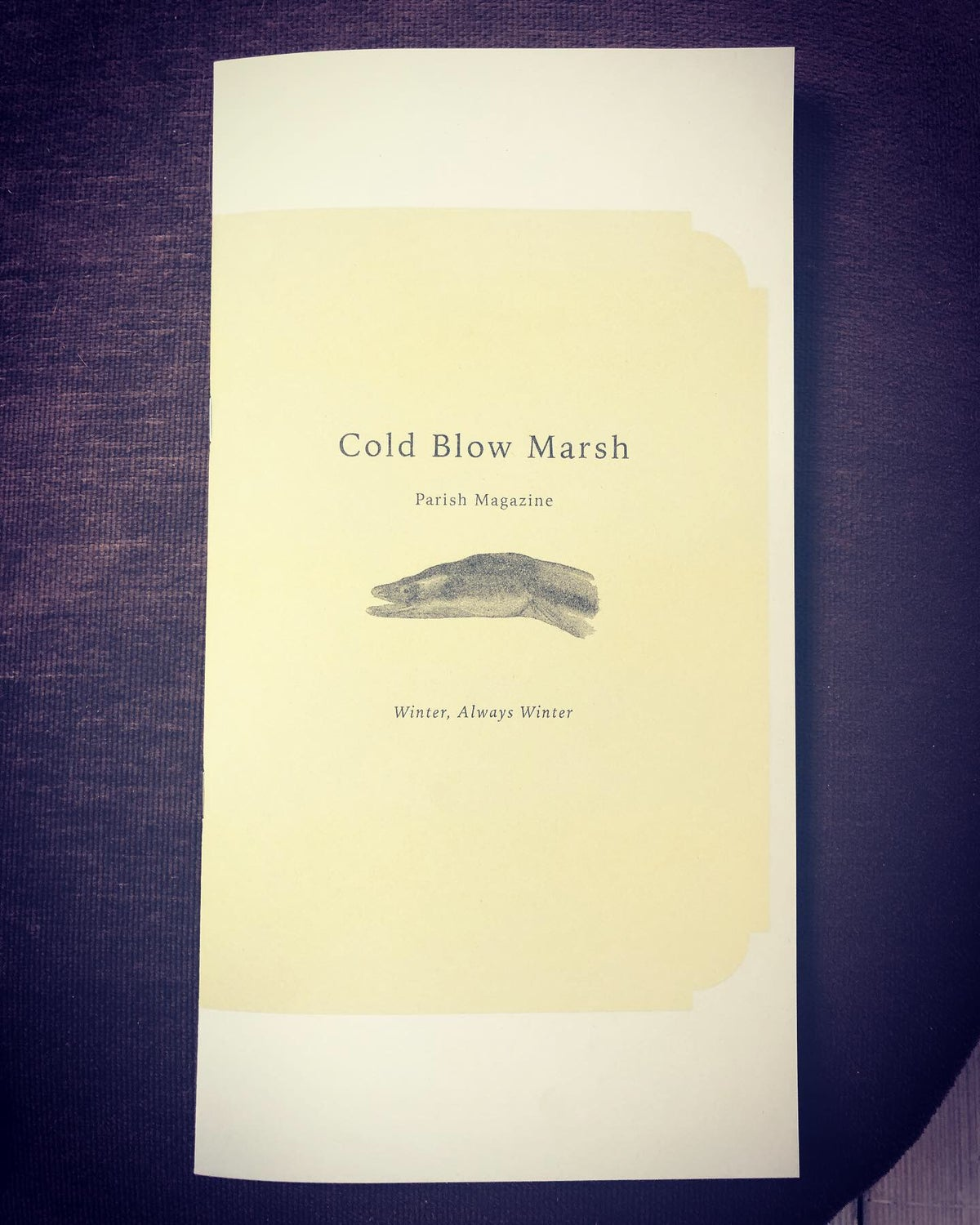 Image of Cold Blow Marsh Parish Magazine