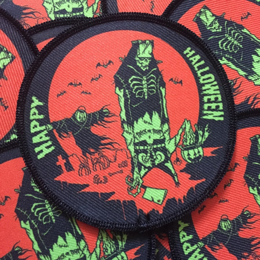 Image of HAPPY HALLOWEEN PATCH
