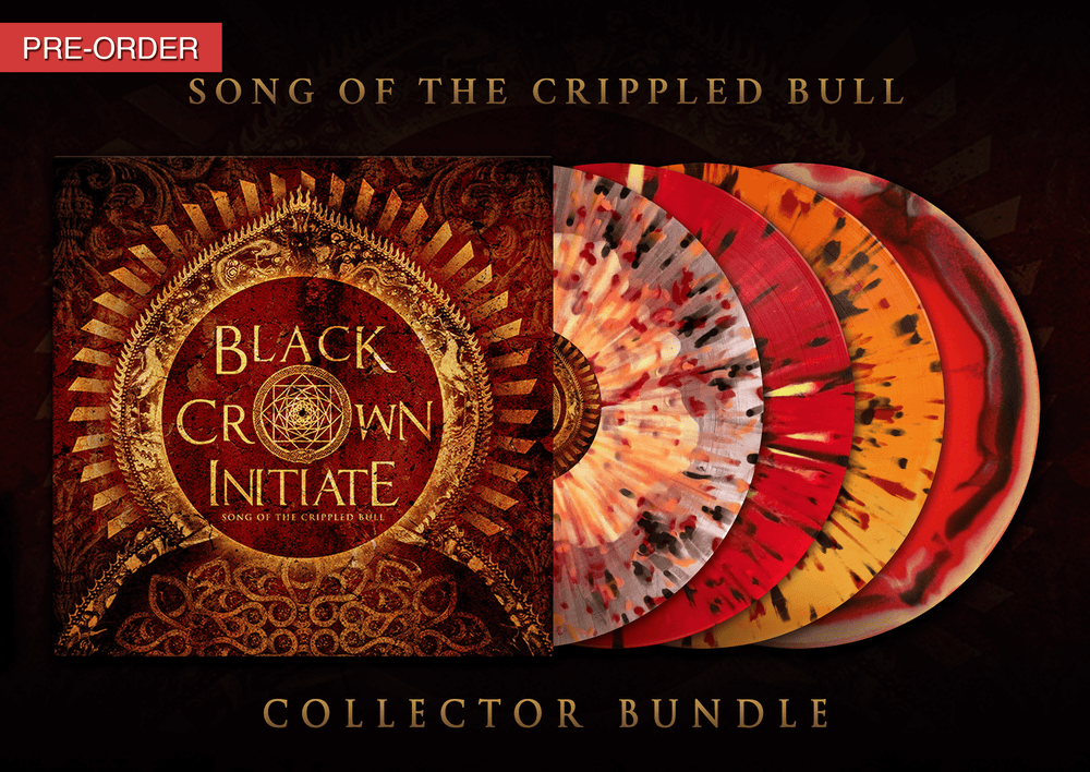 Image of BLACK CROWN INITIATE - Song of the Crippled Bull - LP Collector's Bundle