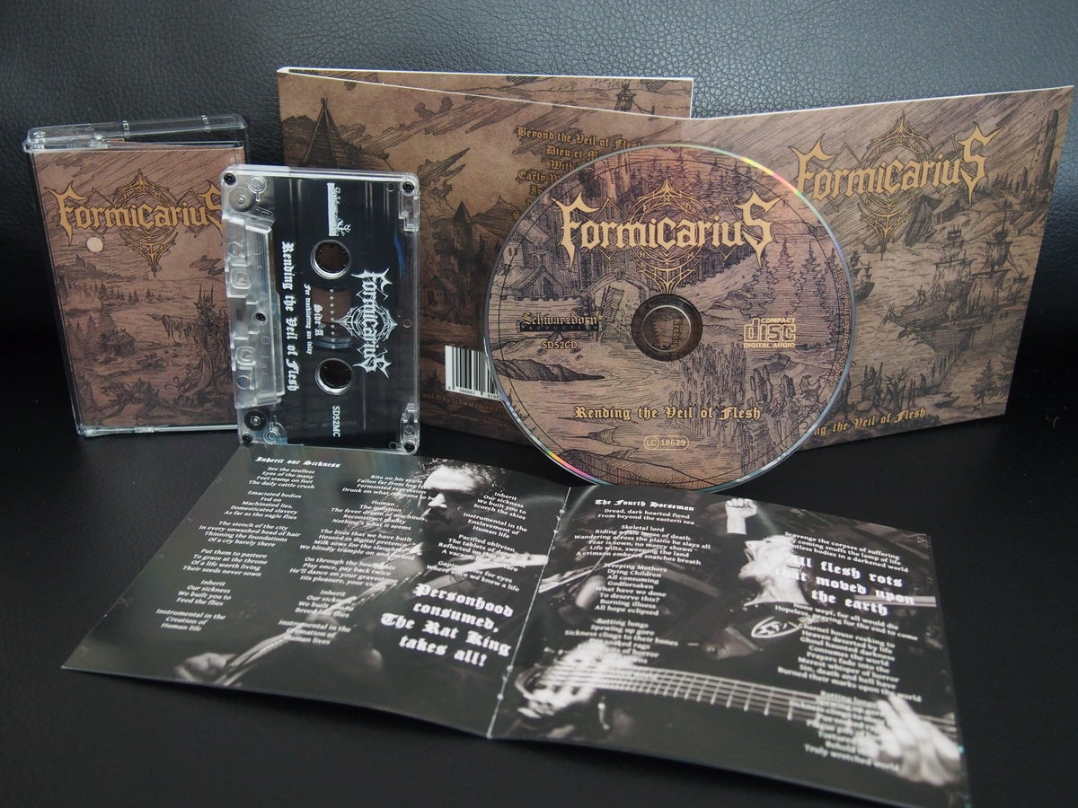 Image of [CD DIGIPAK] Rending the Veil of Flesh - Pre-Order