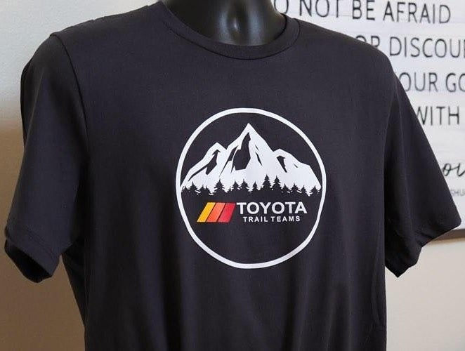 Image of Trail Teams TShirts (Black)