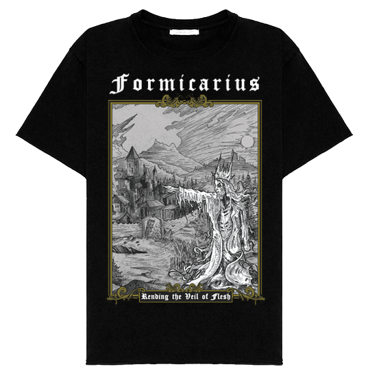 Image of [T-Shirt] Rending the Veil of Flesh - Pre-Order