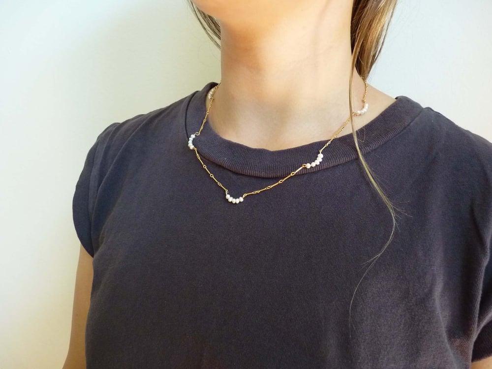 Image of Cinq necklace