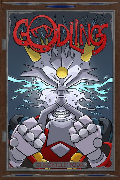 Image of Godlings Issue 4