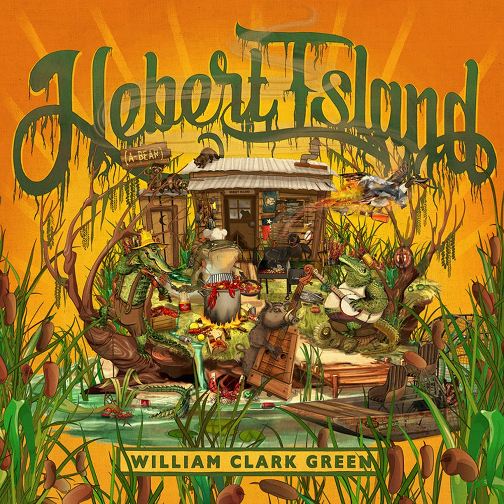 Image of Hebert Island - Limited Edition Swamp Water Vinyl