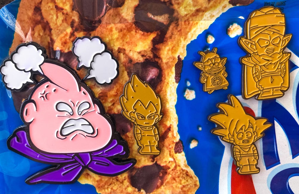 Image of Buu & His Cookies | Soft Enamel Pin Series