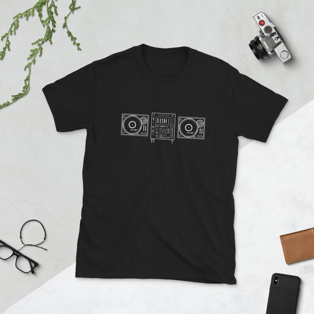 Image of Vinyl Decks T-Shirt // Dark
