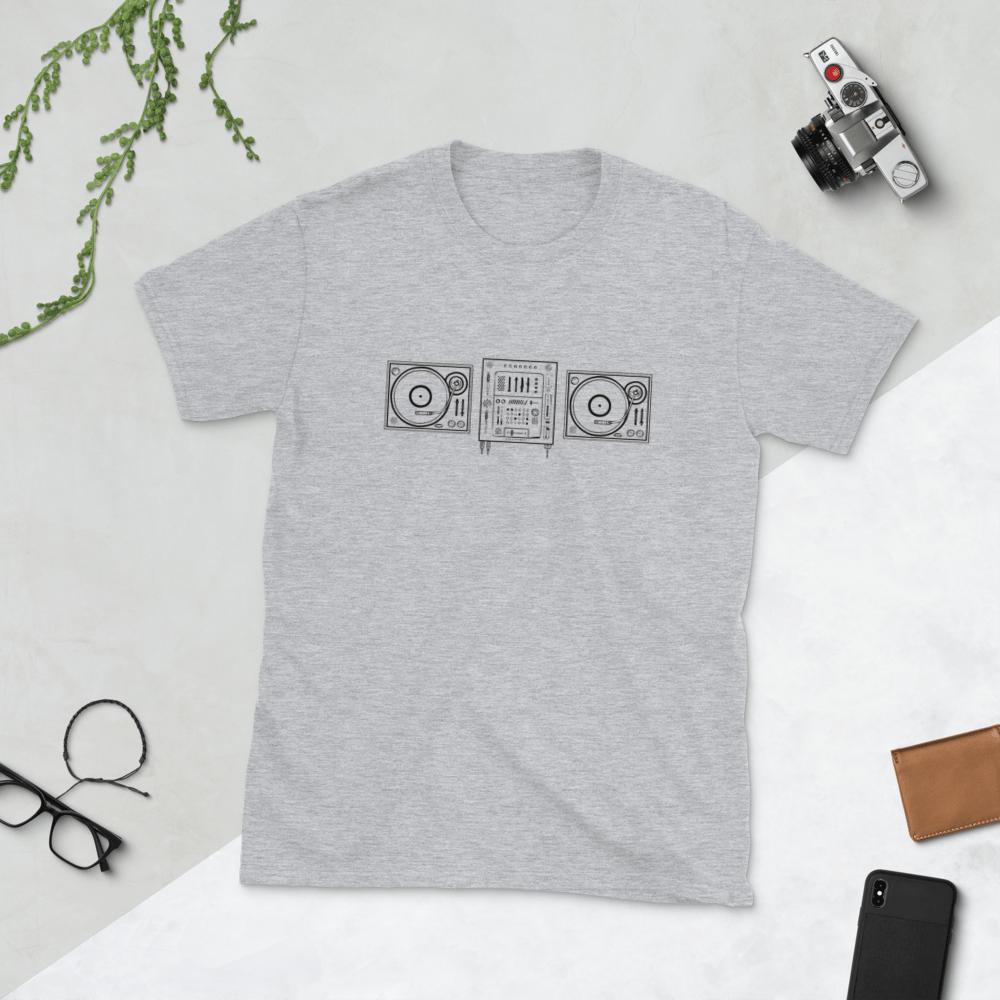 Image of Vinyl Decks T-Shirt // Light