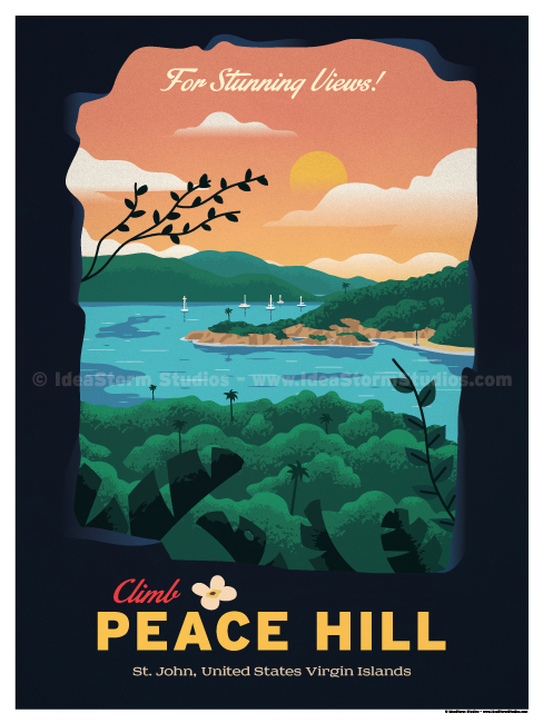 Image of Peace Hill Poster
