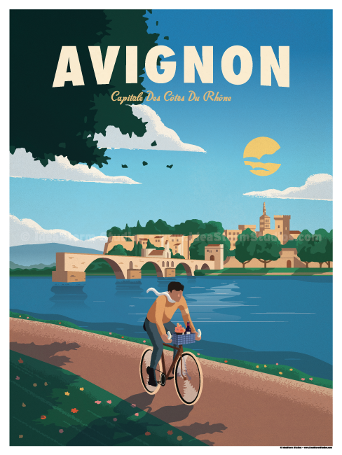 Image of Avignon Poster