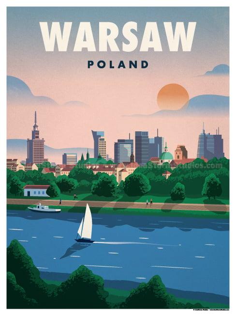 Image of Warsaw Poster