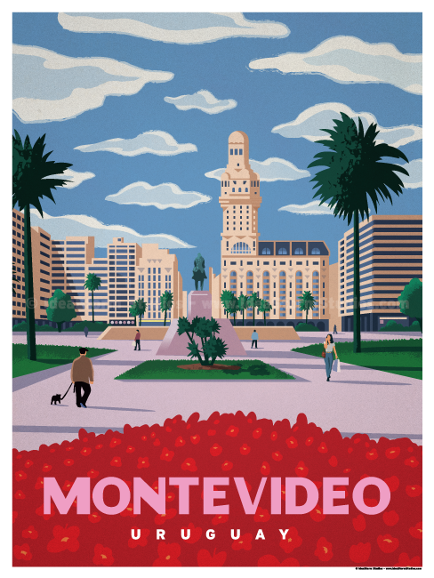 Image of Montevideo Poster