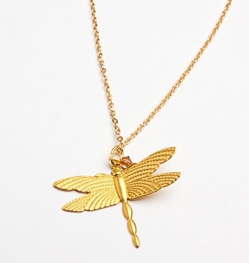 Image of Gold dragonfly