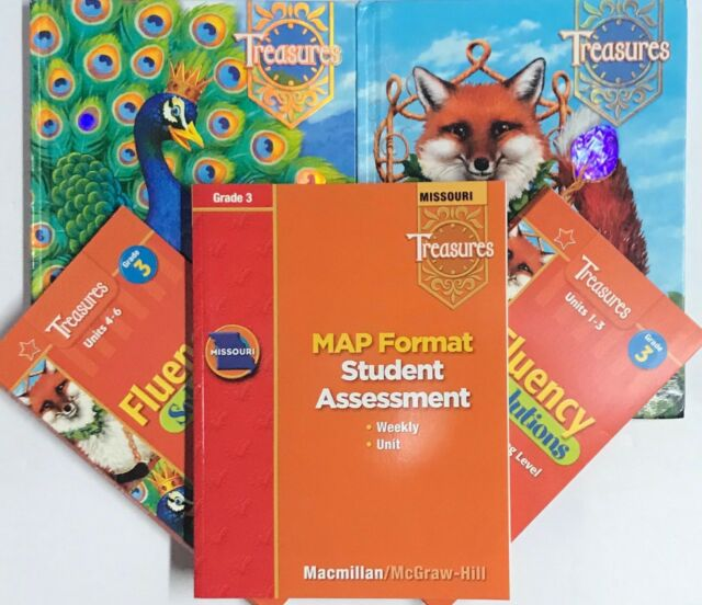Image of Grade 3 Macmillan McGraw Hill Treasures Reading Curriculum