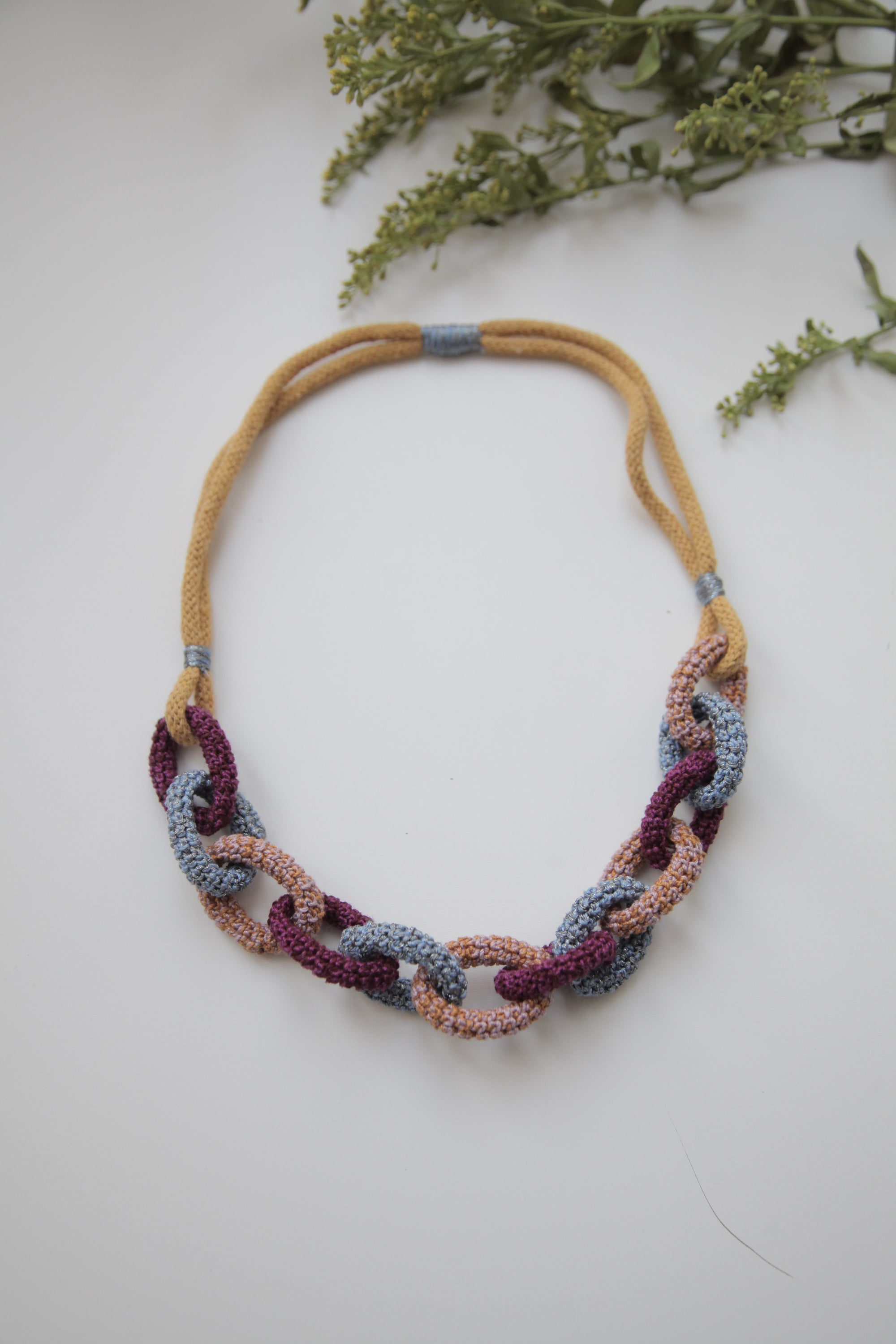 Image of Multicolor Bonded Together necklace