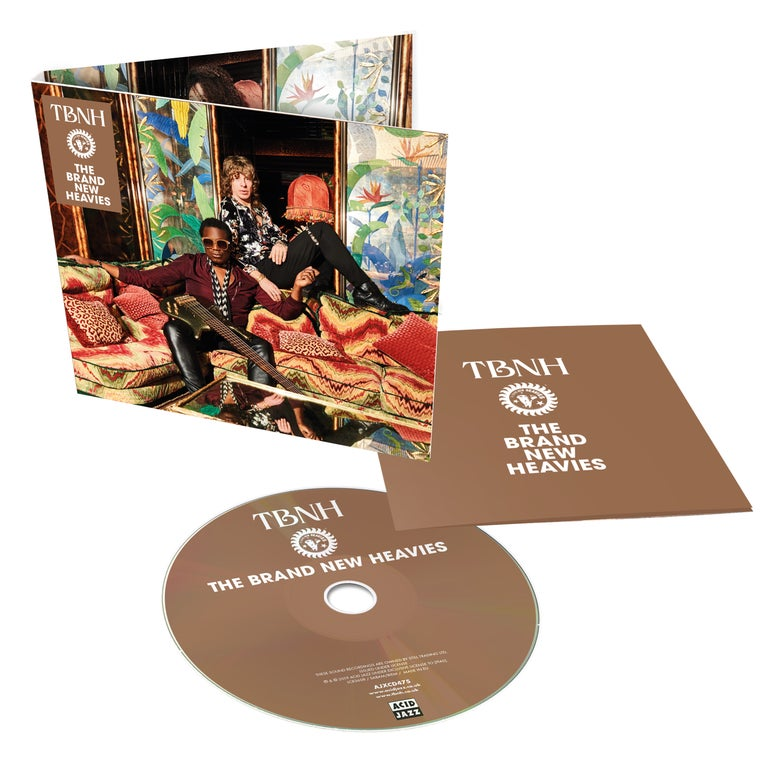 Image of The Brand New Heavies - TBNH CD