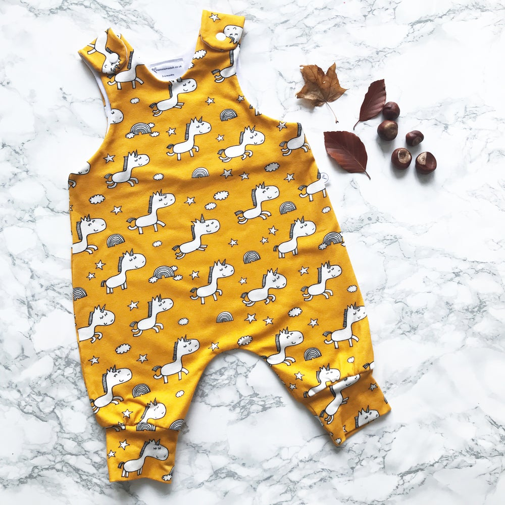 Image of Autumn Unicorn Romper