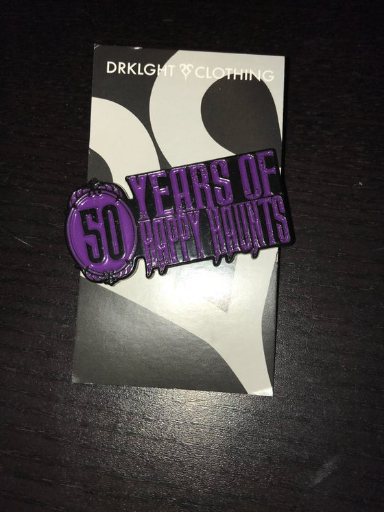 Image of Haunted Mansion 50th Anniversary Enamel Pin