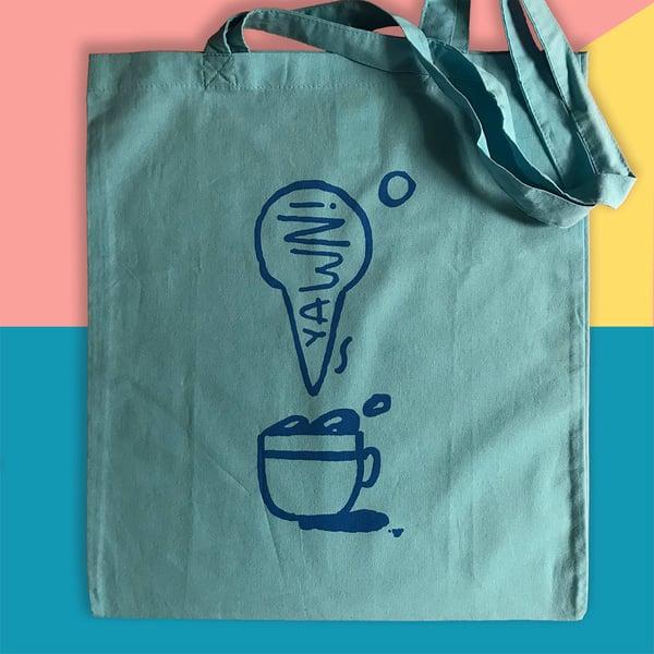 Image of YAWN! Tote bag